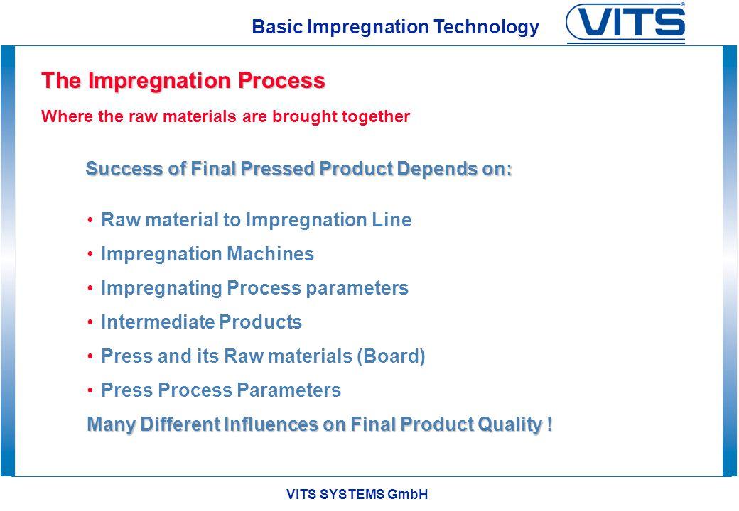 The Impregnation Process