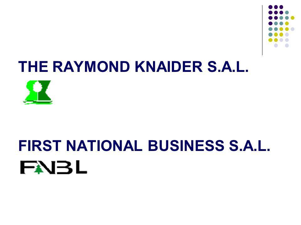 THE RAYMOND KNAIDER S.A.L.