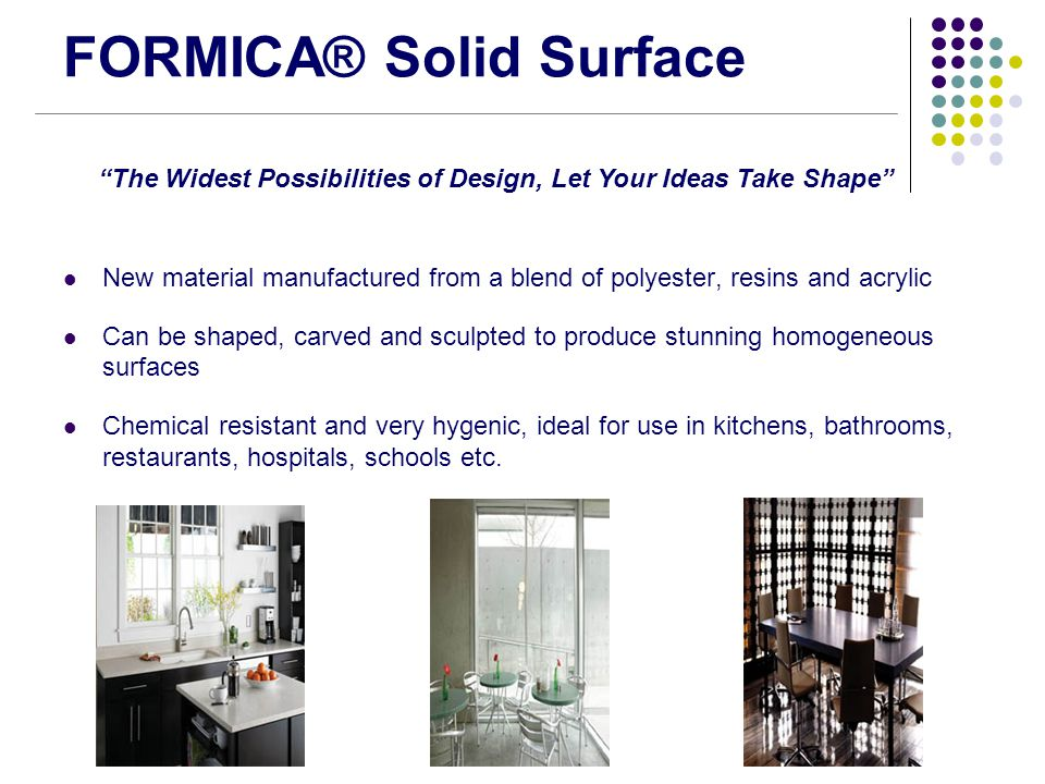 FORMICA® Solid Surface