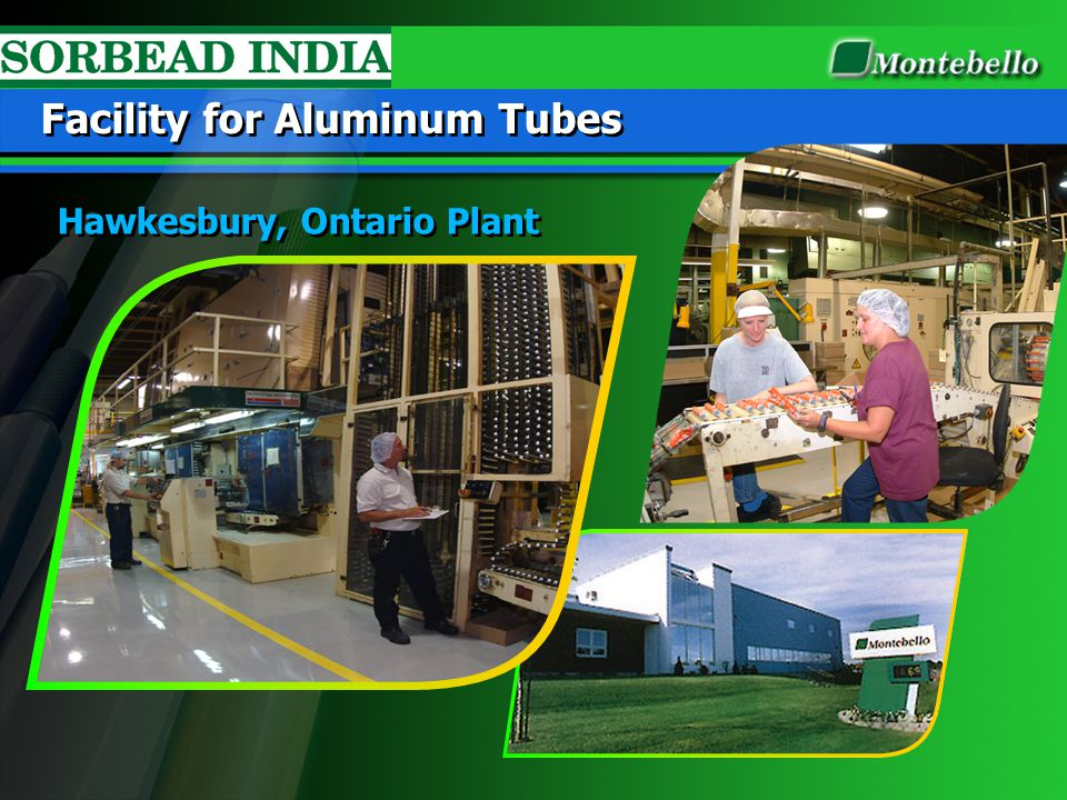 Facility for Aluminum Tubes
