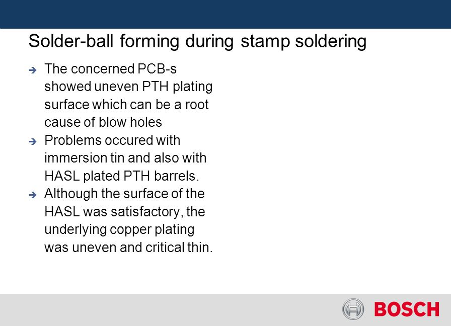 Solder-ball forming during stamp soldering