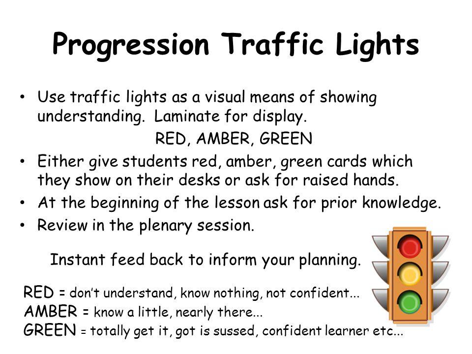 Progression Traffic Lights