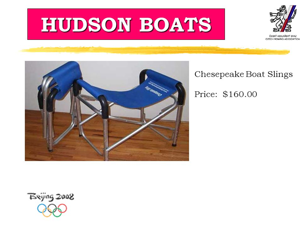 HUDSON BOATS Chesepeake Boat Slings Price: $160.00