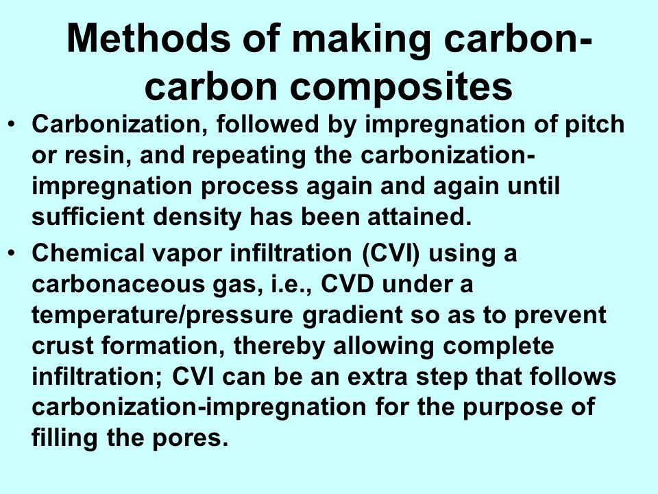 Methods of making carbon-carbon composites