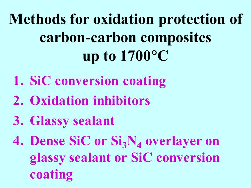 Methods for oxidation protection of carbon-carbon composites up to 1700C