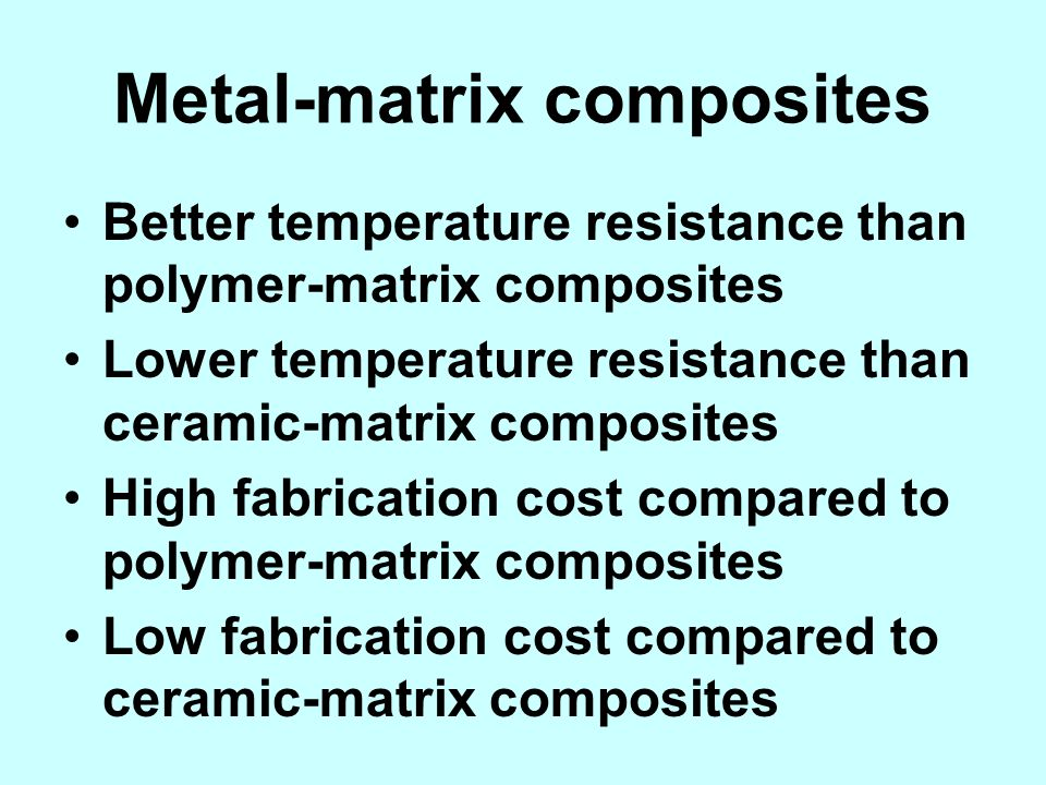 Metal-matrix composites