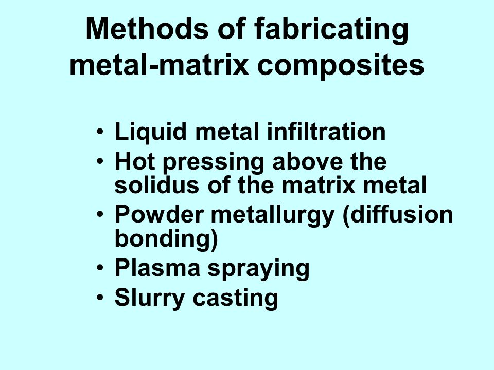 Methods of fabricating metal-matrix composites
