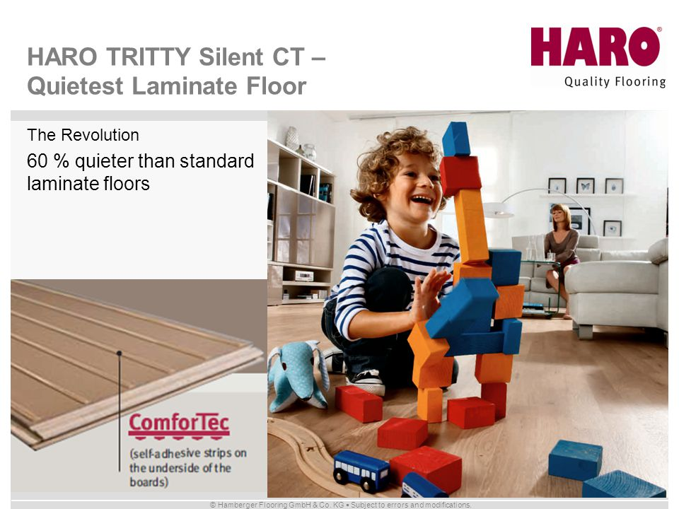 HARO TRITTY Silent CT – Quietest Laminate Floor