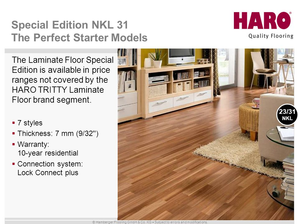 Special Edition NKL 31 The Perfect Starter Models