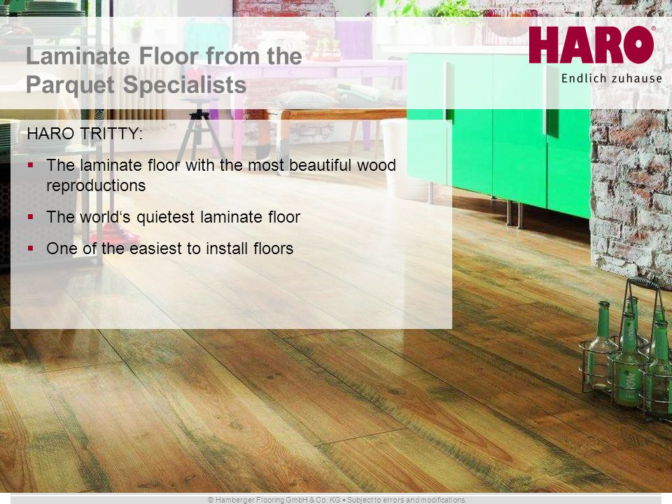 Laminate Floor from the Parquet Specialists
