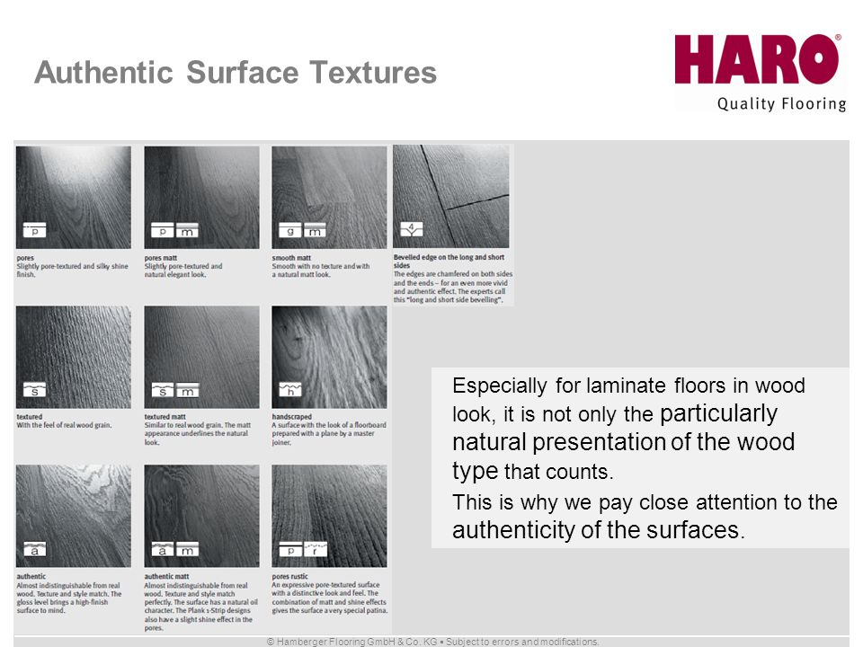 Authentic Surface Textures