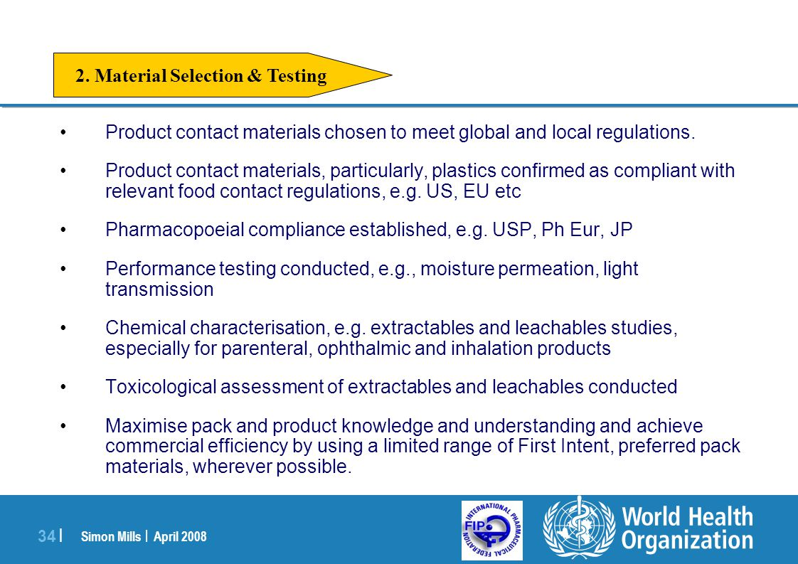 2. Material Selection & Testing