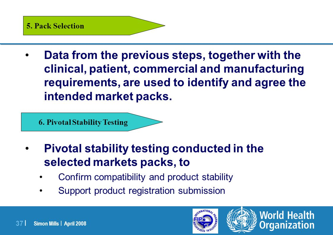 6. Pivotal Stability Testing