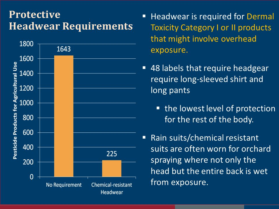 Protective Headwear Requirements