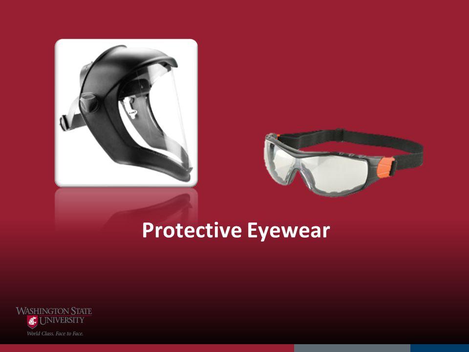 Protective Eyewear 4/1/2017 Eyewear is next
