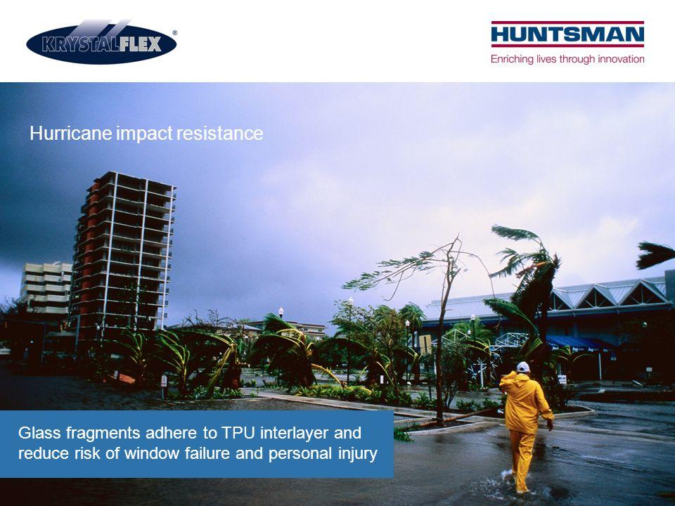 Hurricane impact resistance