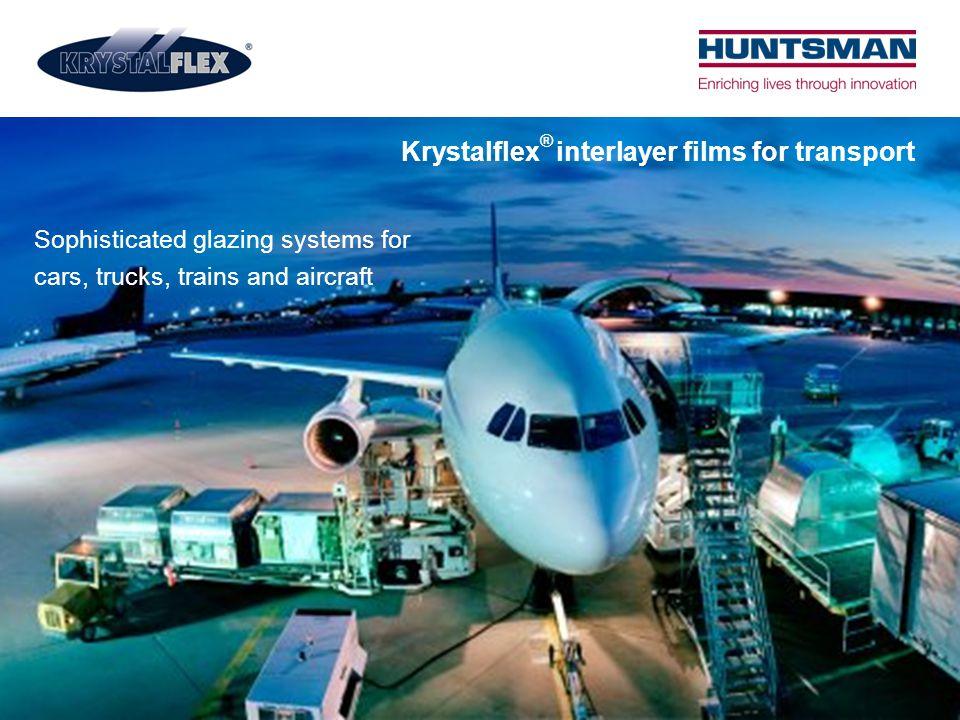 Krystalflex® interlayer films for transport