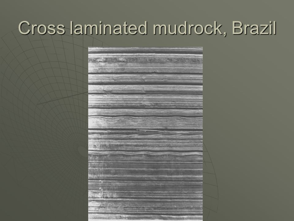 Cross laminated mudrock, Brazil