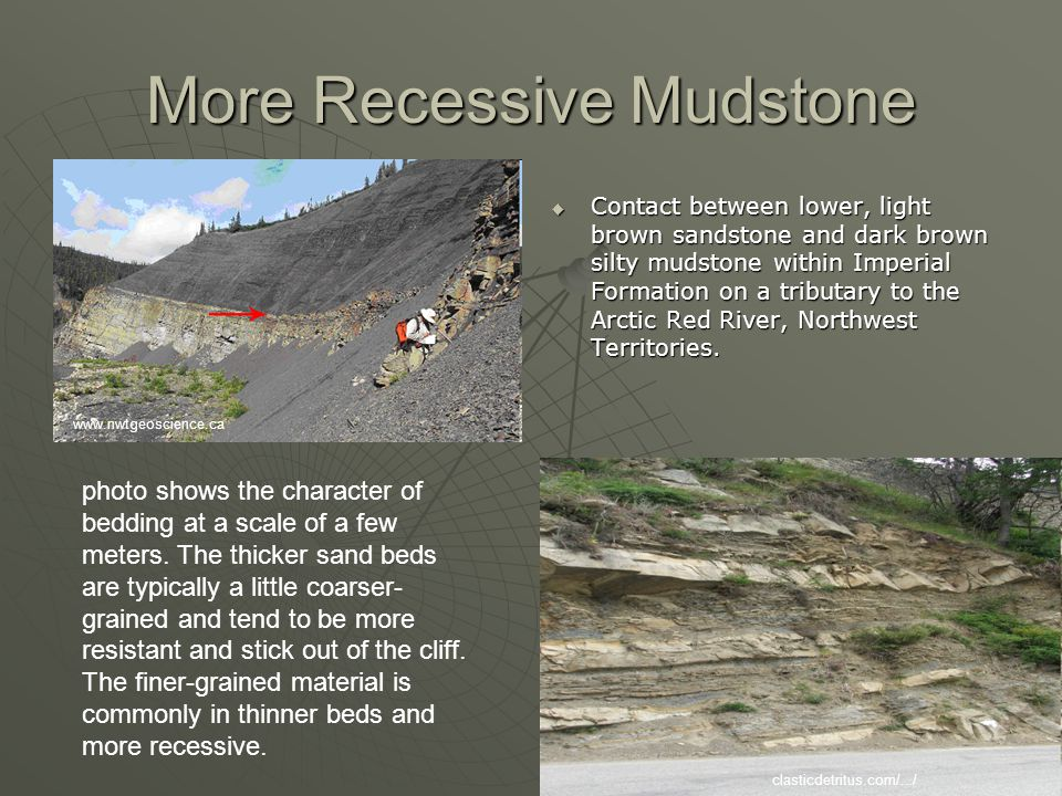 More Recessive Mudstone