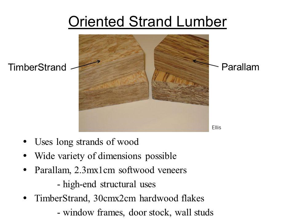 Oriented Strand Lumber