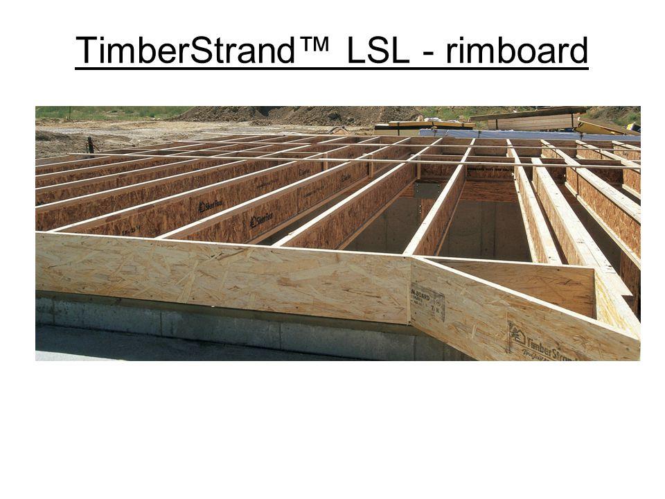 TimberStrand™ LSL - rimboard