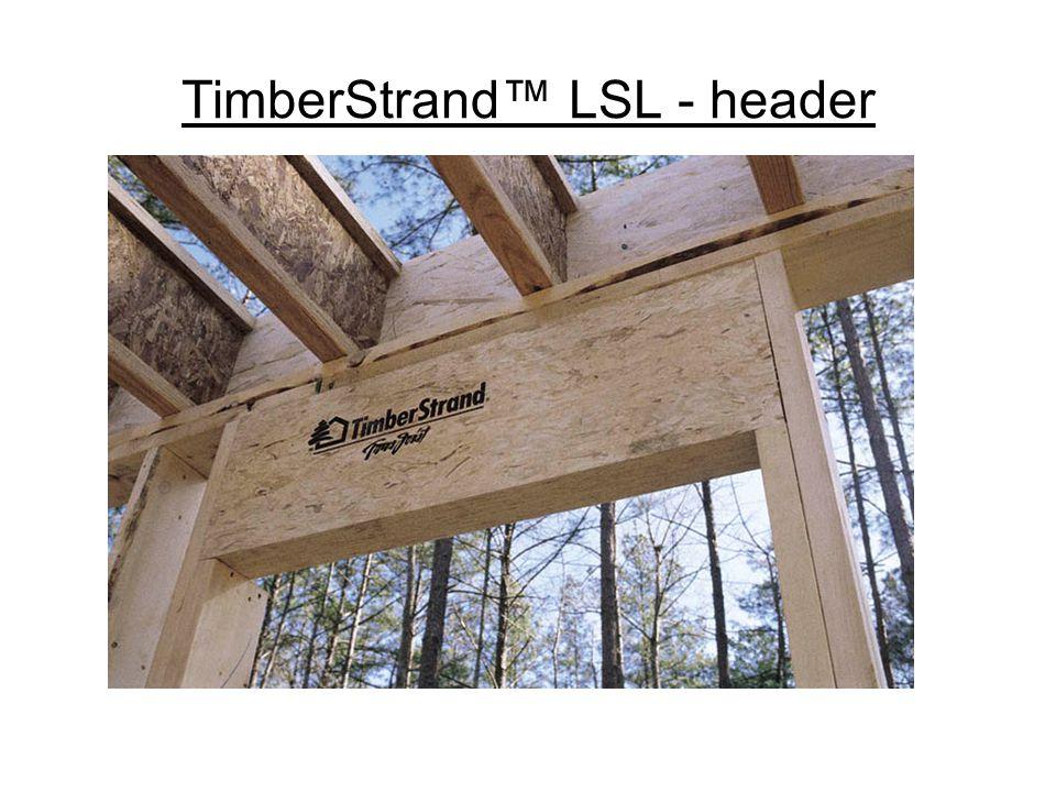TimberStrand™ LSL - header