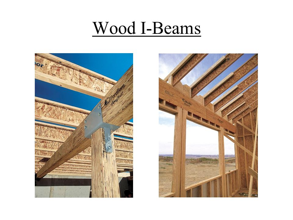 Wood I-Beams