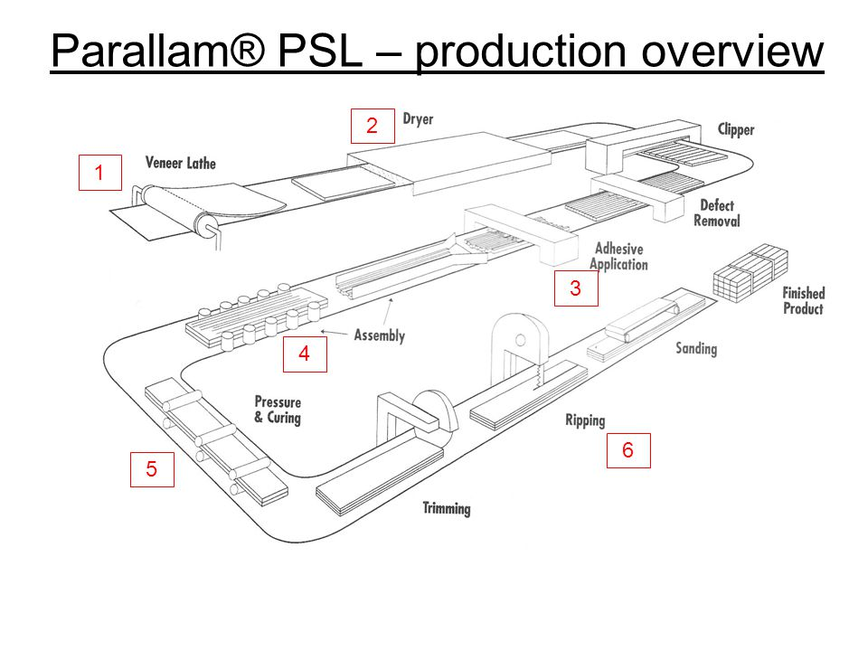 Parallam® PSL – production overview
