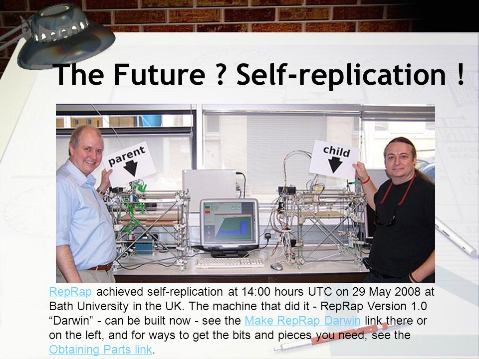 The Future Self-replication !