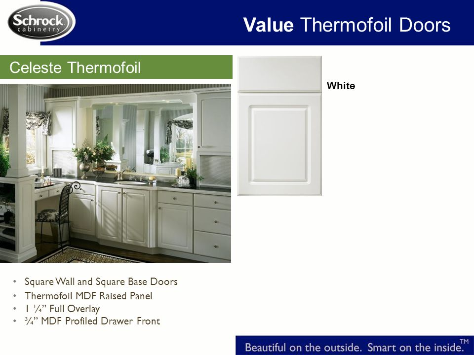 Value Thermofoil Doors