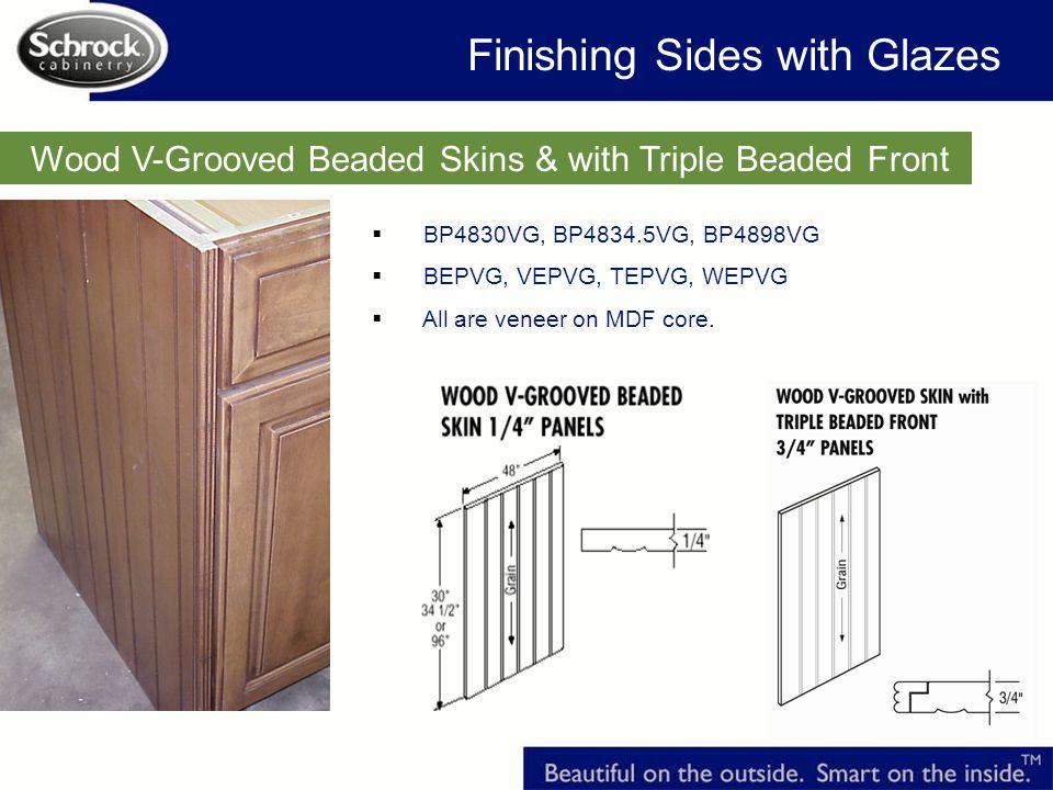 Finishing Sides with Glazes