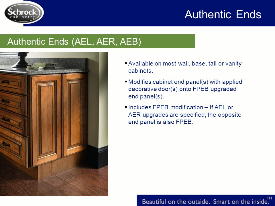 Authentic Ends Authentic Ends (AEL, AER, AEB)