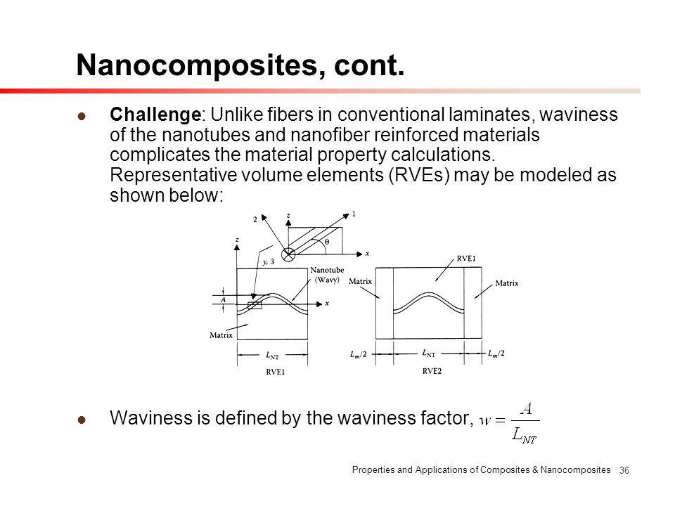 Nanocomposites, cont.