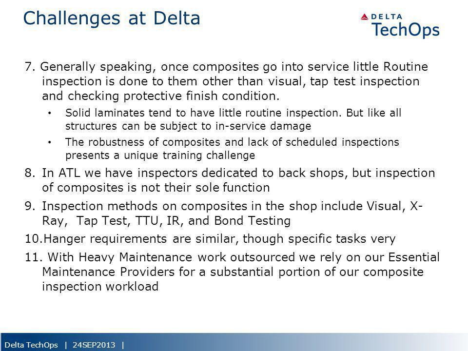 5/22/2013 Challenges at Delta.