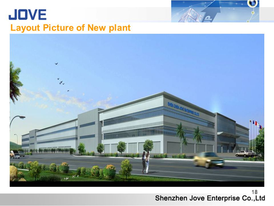 Layout Picture of New plant