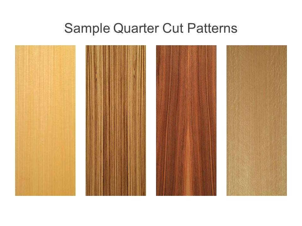 Sample Quarter Cut Patterns