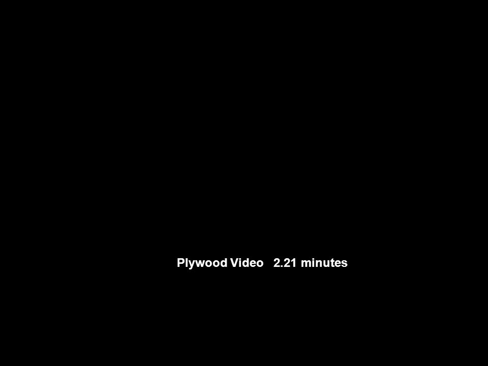 Plywood Video 2.21 minutes