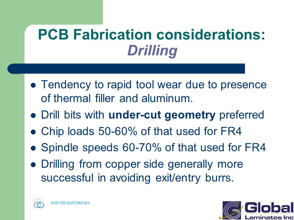 PCB Fabrication considerations: Drilling