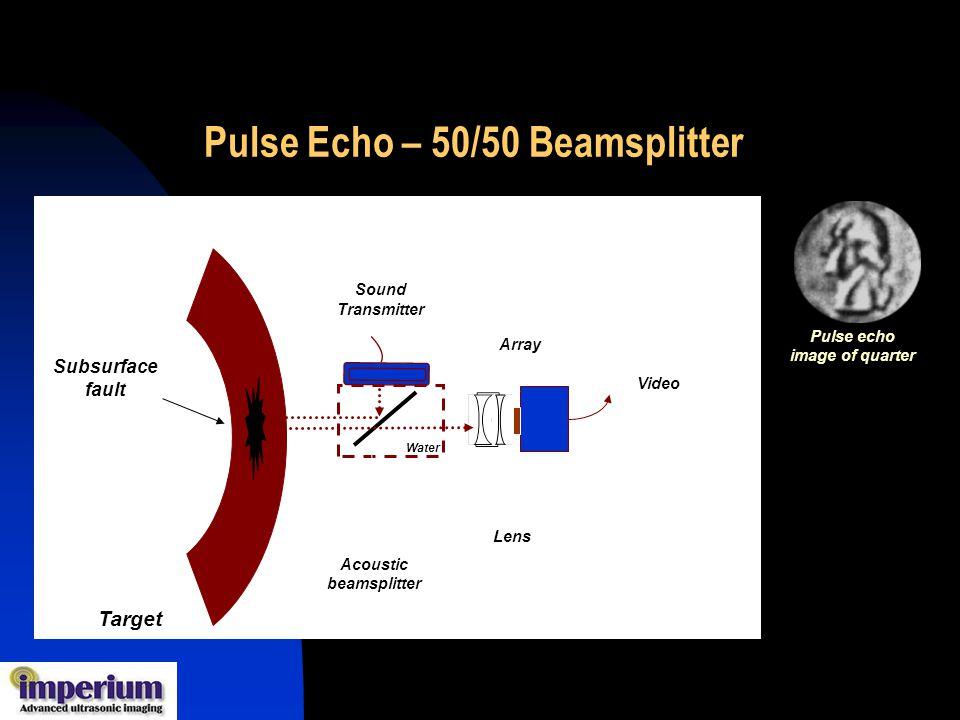 Pulse Echo – 50/50 Beamsplitter