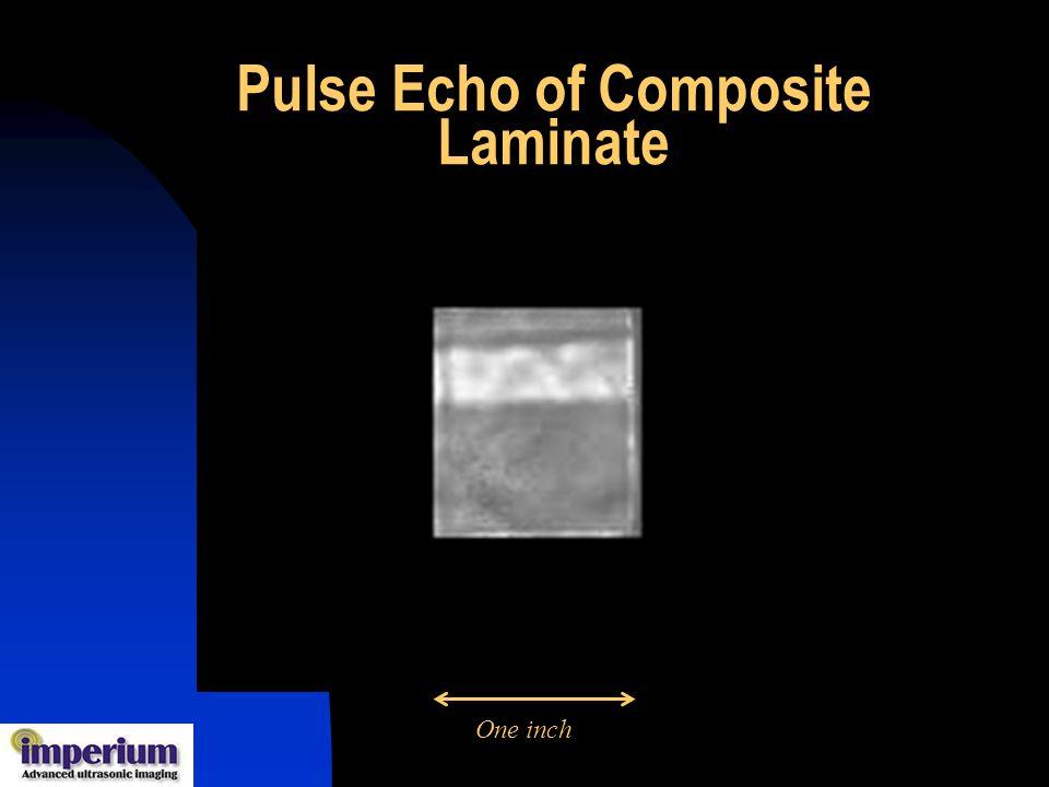 Pulse Echo of Composite Laminate