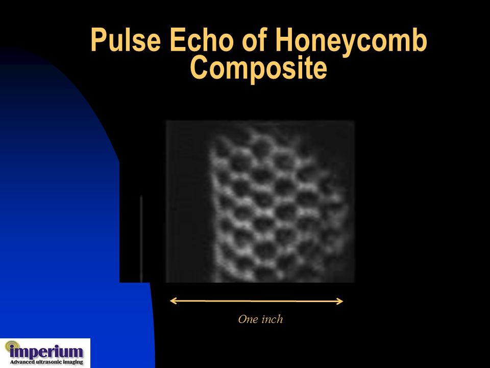 Pulse Echo of Honeycomb Composite