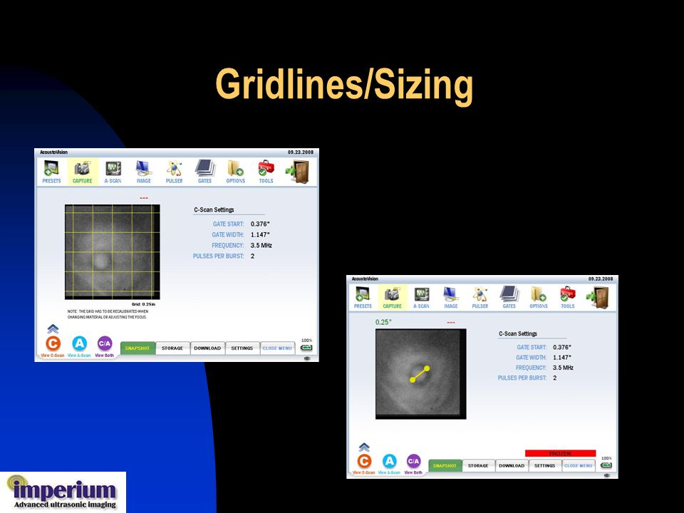 Gridlines/Sizing