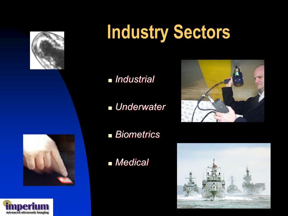 Industry Sectors Industrial Underwater Biometrics Medical