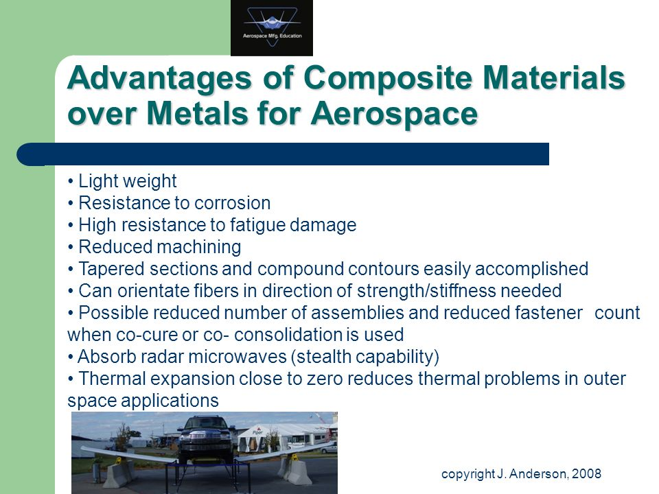 Advantages of Composite Materials over Metals for Aerospace