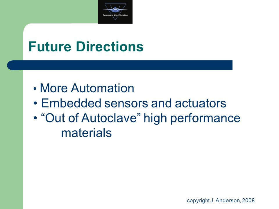 Future Directions Embedded sensors and actuators
