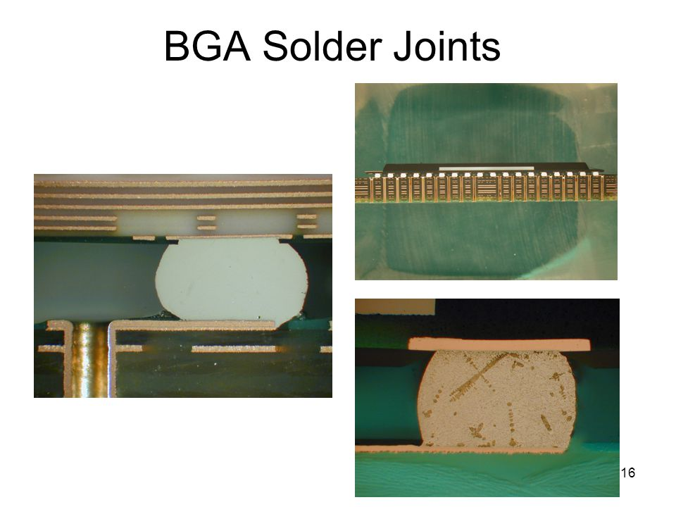BGA Solder Joints