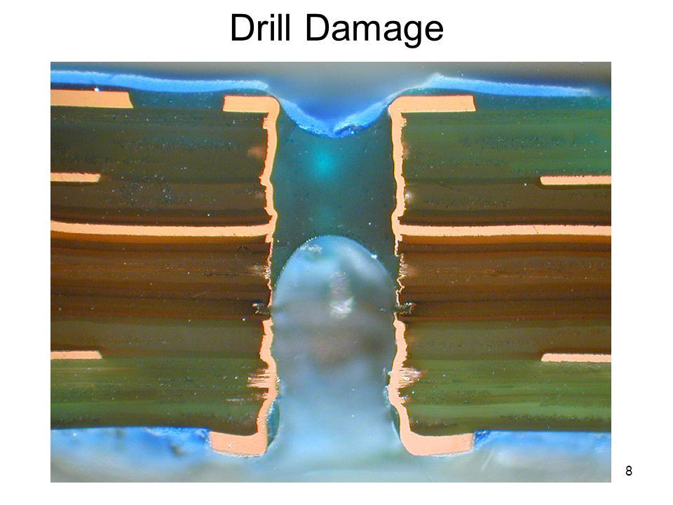 Drill Damage