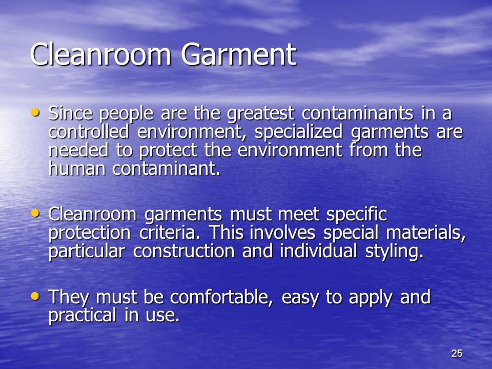 Cleanroom Garment
