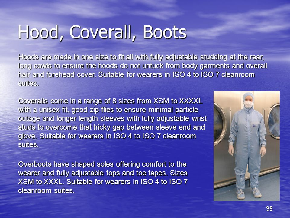 Hood, Coverall, Boots