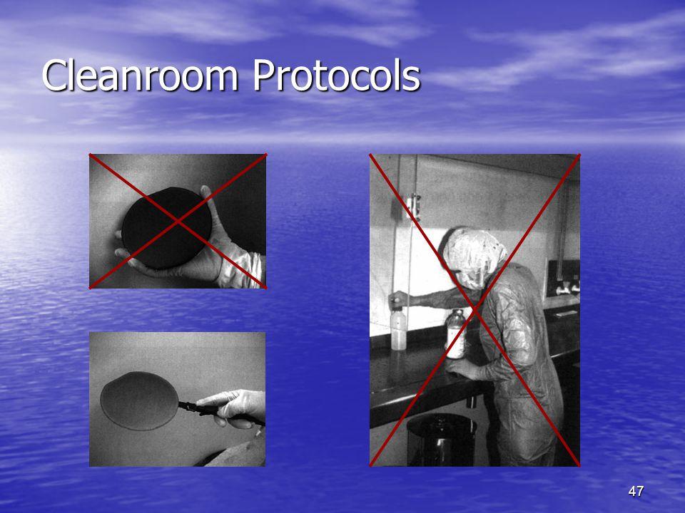 Cleanroom Protocols